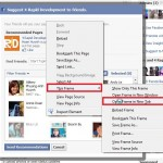 Open Facebook Suggest to Friends on new tab
