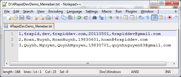 SQL SERVER How to import Text/CSV file into table | 4